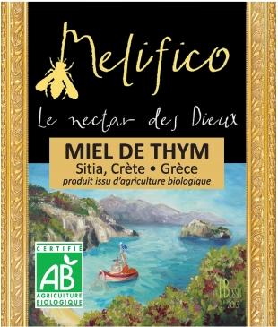 Miel de Thym - Sitia, Crète 250gr